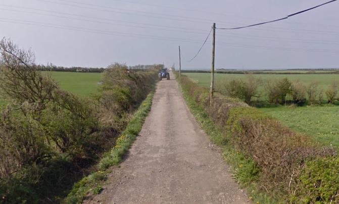 Access Road Through Bootle